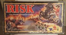 Incomplete Parts Only As Is Vtg Risk The World Conquest Strategy War Board Game
