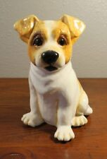 Big Sky Carvers Canine Pottery Puppy Dog Still Coin Bank