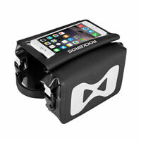 "ROCKBROS Front Frame Top Tube Bag Waterproof 6.0"" Touch Screen Phone Bag"