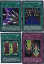 Set of 4 Ultra Rare Japanese YuGiOh Cards - Magic Cylinder P4-05 Premium Pack 4