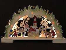 3D Schwibbogen Lichterbogen Erzgebirgische Tradition 16-135 BA