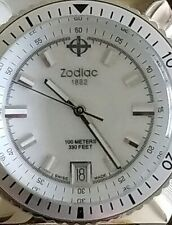 ZODIAC DIVER STYLE MEN'S QUARTZ WATCH SEA DRAGON/ZO2289 300 FEET SWISS MADE