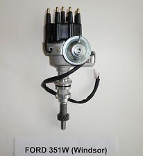 SMALL BLOCK FORD 351W  BLACK Small Cap HEI Distributor-Ready to Run-electronic