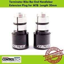 Controltech Terminator Bar End Handlebar Extension Plug for Road Bike (23.8mm)