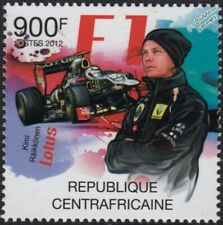 KIMI RAIKKONEN / Räikkönen LOTUS F1 Formula One Grand Prix Car Stamp (2012 CAF)