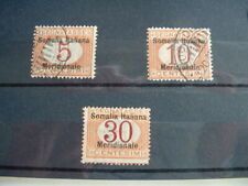 1906 POSTAGE DUE STAMPS SOMALIA HIGH CATALOGUE VALUE