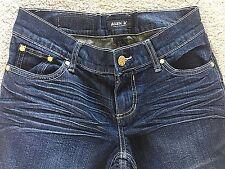 Allen B Schwartz Women's Jeans Gold Studded Back size 4 Excellent Condition!