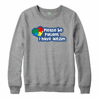 Please Be Patient Jumper, I Have Autism Awareness Adult & Kids Jumper Top