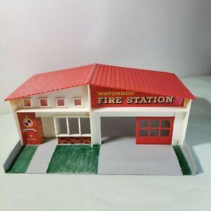 Vintage Lesney Matchbox Fire Station Playet Building MF-1 1965