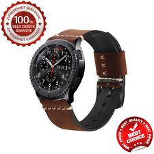 Echtleder Samsung Gear S3 Frontier Armband Galaxy Watch 46mm Classic Original