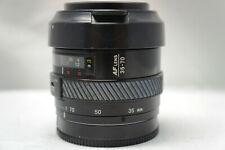 MINOLTA MAXXUM AF ZOOM 35-70MM F4 CAMERA LENS, WITH SHADE, NEW 50% 0FF SALE