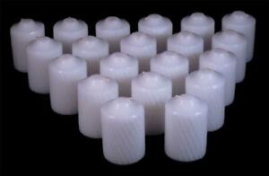 15 Hour Scented Votive Candles 20 Candles Per Box Textured Finish
