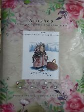 AMISHOP GOLD COLLECTION RUSSIAN GIRL IN WINTER cross Stitch Kit 14ct aida...