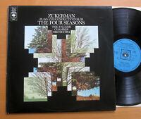 CBS 73097 Zukerman Plays & Conducts Vivaldi Four Seasons English Chamber Orch EX
