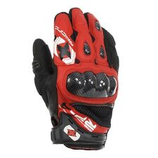 Oxford RP-4 Short Summer Motorcycle Leather Gloves RED/BLACK - RP-4