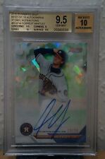 FORREST WHITLEY 2016 Bowman's Best Atomic Refractor #'d/25 AUTO REF RC BGS 9.5
