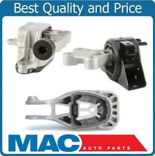 3pc Engine Motor Mounts Automatic Transmission for Chevrolet Sonic 1.4L 12-16