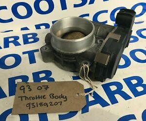 SAAB 9-3 93 Throttle Body 2007 2008 2009 2010 93189207 Petrol B207 Engine