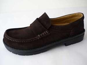 Footprints Cambridge Birkenstock Footbed 39 Leather Braun Medium New