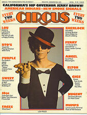 3/23/76 CIRCUS magazine  LOU REED cover  Deep Purple  Styx  Sweet  Bryan Ferry