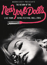 The New York Dolls Pre-Crash Condition Live From The Royal Festival Hall DVD NEW