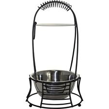 MYA Hookah Wire Style Charcoal Holder with Handle Black/Chrome Small