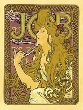 Repro Art Nouveau Print  ' Job' by Alphonse Mucha #2