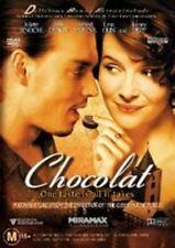 CHOCOLAT DVD=JOHNNY DEPP-JULIETTE BINOCHE=REGION 4 AUSTRALIAN=NEW & SEALED