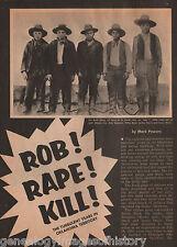 Buck Gangs History of Robbing, Raping & Killing+Bauman,Bruner,July,Rusk,Tolbit