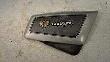 1985 Honda Goldwing GL1200 Aspencade GL H649. right side cover with emblem badge
