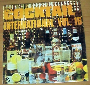 Cocktail International Vol 16, Claudius Alzner & His Rhythm Group - LP Record