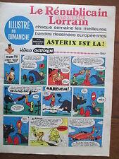 LE REPUBLICAIN LORRAIN ILLUSTRE DU DIMANCHE 5 UDERZO GREG MORRIS GRATON... 1967