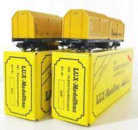 LUX MODELLBAU 9620, MARKLIN 3 RAIL AC DIGITAL - TWO PIECE DB TRACK CLEANING SET