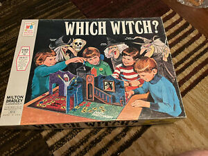 Vintage 1971 Milton Bradley Which Witch Board Game 100% Complete