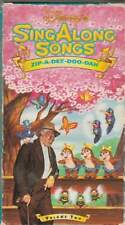 Disneys Sing Along Songs - Song of the South: Zip-A-Dee-Doo-Dah (VHS, 1999)