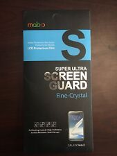 MobC Galaxy Note 2 / N7100 Screen Guard - Fine Crystal (2-Pack)
