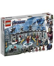 LEGO Marvel Avengers Iron Man Hall of Armor 76125 Kid and Adult Toy Gift
