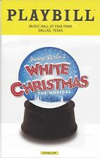 White Christmas Playbill Music Hall at Fair Park Dallas 2017 Irving Berling