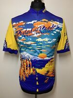 Pearl iZumi Pedal The Peaks New Mexico 2000 Cycling Shirt Jersey Retro XL