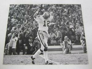 Ken Stabler Oakland Raiders Autographed 8x10  Photo