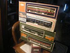 LIMA   -  Lot de 4 wagons DB en Ho