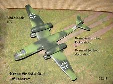 "Arado Ar 234 g-1 ""águila ratonera"" 1/72 Bird models resinbausatz/resin Kit"