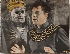 VINT.1960s actor Walther Reyer, death, skullman in Jedermann play