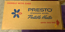 Vintage PRESTO Home Space Heater PM17A w/ Box Working Retro Style Force Air Heat