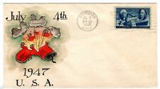 #947 on E.J. Henriques Hand Painted - July 4th Independence Day 1948 Meridian MS