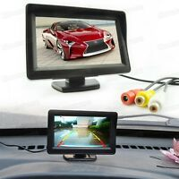 12V 4.3 inch TFT LCD Screen Security Monitor for Car Rearview Camera DVD CCTV