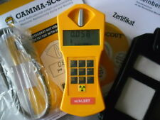 "Kalibrierungszertifikat Geigerzähler inkl Gamma-Scout ALARM /""Modell-2019/"""