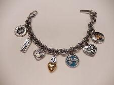 "Adjustable to 9"" B210 Brighton Peace Bracelet D23746"