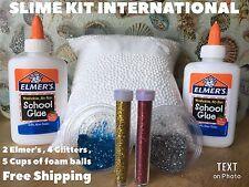Elmer's School Glue Washable Slime Kit DYI GIFT