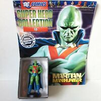 #18 MARTIAN MANHUNTER FIGURINE SUPER HERO COLLECTIONS DC COMICS EAGLEMOSS 1:21